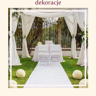 dekoracje ślubne, urodzinowe, weselne